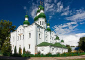 Yelets-Dormition monastery's cathedral — Stockfoto