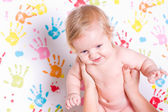 Happy little baby — Stock Photo