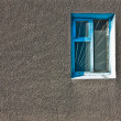 Stock Photo: Window on gray wall
