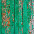 Green wood texture — Stock Photo