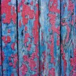 Stock Photo: Wood cracky blue-red grunge texture