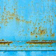 Stock Photo: Metall blue rusty texture