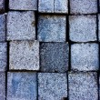 Stock Photo: Texture of square granite blocks