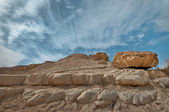 The Rocks in the Sunlight — Stock Photo