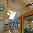 Stock Photo: Funicular. Bergamo.