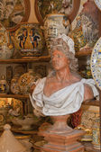 At the Handicraft Store — Stock Photo