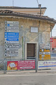 Northern Italy Directions — Foto de Stock