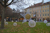 Christmas Pictures from Prague — Stok fotoğraf