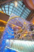 Christmas Decorations in Palladium Mall — Stock Photo