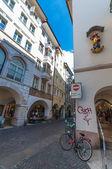 At the Streets of Bolzano — Stock Photo