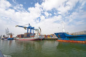 Rotterdam Port — Stock Photo