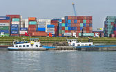 At Rotterdam Port — Stock Photo