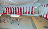 Dressing Room of FC Ajax — Stock Photo