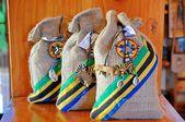 Souvenir gift items from Tanzania — Stock Photo