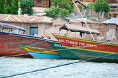 Fishermen dhows found around Tanzania — Stock Photo