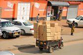 Trasporti locali in tanzania — Foto Stock