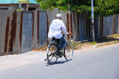 Local transport in tanzania — Stock Photo
