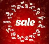 Christmas sale — Stock Photo
