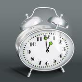Alarm clock. Vector illustration. — Stockvektor