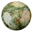 Green jasper bead — Stock Photo
