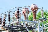 Detalle de la estación de energía — Foto de Stock