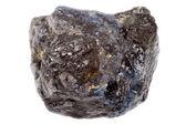 Blue rough natural sapphire — Stock Photo