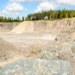 Stock Photo: Stone and gravel quarry