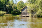 The boat house — Stock Photo