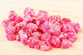 Ruby crystals — Stock Photo