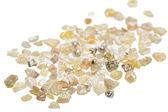 Raw uncut diamonds — Stock Photo