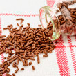 Brown sprinkles — Stock Photo