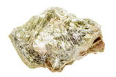 Mineral sample of green diopside — Stock Photo