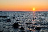 Sunrise over ocean — Stock Photo