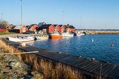Рыбалка гавань — Стоковое фото