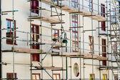 Building scaffolding — Stock Photo