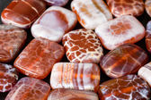Fire agate — Stock Photo