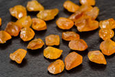 Yellow sapphires — Stock Photo