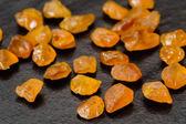 Yellow sapphires — Stock Photo