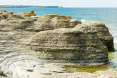 Limestone sea stacks — Stock Photo