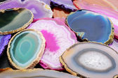 Geode slices — Stock Photo