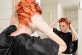 Dye your hair — Stock Photo