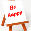 Be happy — Stock Photo