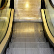 Stock Photo: Empty escalator