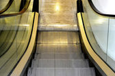Empty escalator — Stockfoto