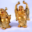 Golden Buddhas — Stock Photo