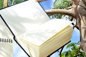 Bookhanging из дерева — Стоковое фото