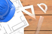 Tools for construction drawings — Stok fotoğraf