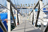 Bridge Marina — Stock Photo