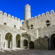 View from the courtyard of the Ribat fortress in the city of Sou — Stock Photo