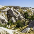 The Valley of the pigeons in Cappadocia, Turkey — Stock Photo